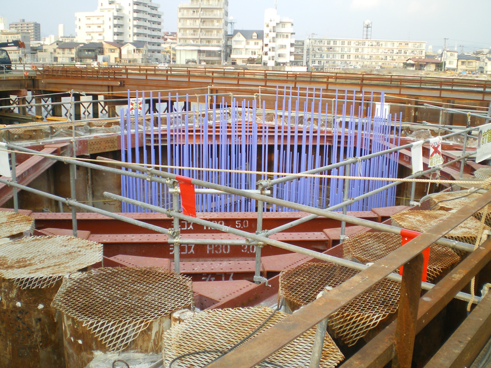 MKエポザク・広島高速3号線二期下部工事 【広島高速道路公社】